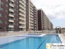 Alugo apartamento 3/4 com suíte e varanda | 6° andar | R$1.800,00 com taxas
