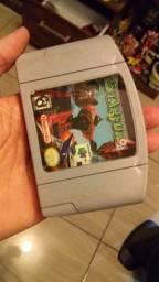 Star Fox original para Nintendo 64 carcaça quebrada leia