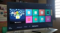 Smart Tv TCL 4K led 65 pol wifi zerada com gente seria em P.Alegre-rs