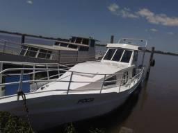 Barco de aço motor diesel