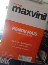 Oferta tinta branco neve 18L 500m² na Cuiabá tintas  ..