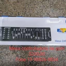 Mesa controladora luatec modelo DXM512 nova
