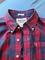 Camisa  abercrombie original tamanho P