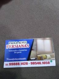 Consertos e reformas de persianas em geral fone 51985-461-058