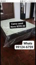 Cama box casal nova direto da fábrica QUEIMA ESTOQUE HOJE
