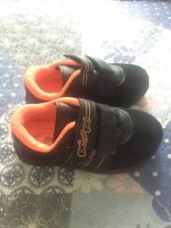 Sapato bebê novo