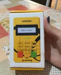 Máquina de Cartão Minizinha Chip