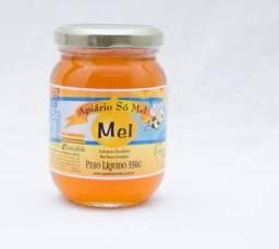Mel 350g Vidro Apiário Só Mel - Reforce sua imunidade