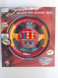 Volante musical para crianças de 2 a 4 anos