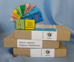 Multi Jogos Tabela Periódica - Jogo Educativo