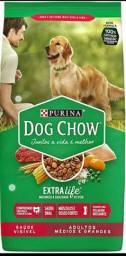 Ração dog Chow extra life.