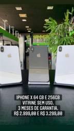 IPhone X 64 e 256 gbs