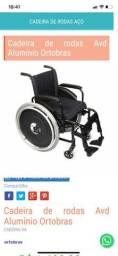 Vendo Cadeira de rodas R$750