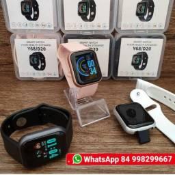 <br><br>Smartwatch D20 Relógios Inteligente