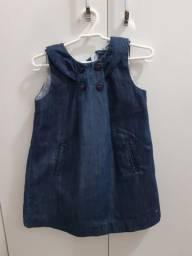 Vestido jeans infantil (menina) Tommy Hilfiger - Muito Novo