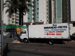 KM fretes e mudanças. Caminhão bolo vazio essa semana do sul da Bahia para Brasília DF