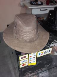 Chapéus de couro 100%