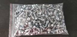 Parafusos flangeados , 6 x 20mm , ch10 , aço 8.8