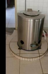 Centrifuga Bárbada industrial tripé de inox 12 kg da lavex