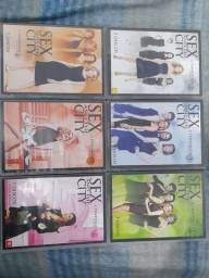 Dvds Todas as temporadas de Sexy and the city