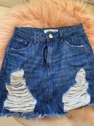 Short jeans / saia jeans
