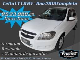 Chevrolet Celta LT 1.0 8V - Ano 2013 Completo