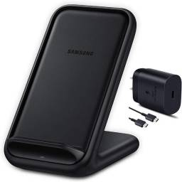 Carregador sem fio Samsung 15W Fast Charge 2.0 Stand Preto