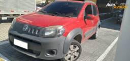 Fiat Uno Way 1.0, 4 portas, 2013/2013, Vermelho, Completo, 97.000km