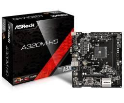 Kit AMD ryzen placa mãe processador é memoria