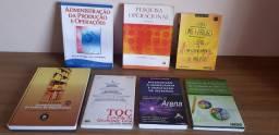 Livros Engenharia de Produção, Administração e Projetos