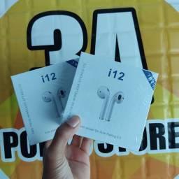 i12 Inpods fone de ouvido sem fio
