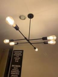 Luminária Tok Stok Estilo Industrial