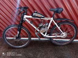 Bicicleta Motorizada Mtb Sport 2t Kit Motor 80cc Aro 26 Só vendaaaa