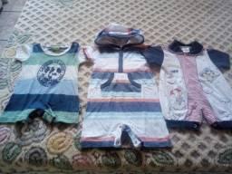 Lotinho de roupas bebê menino