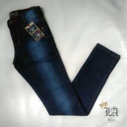 PROMOÇÃO Calças Jeans INFANTIL Masculina Com Lycra - Estoque limitado!