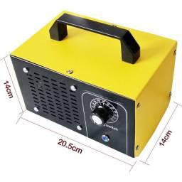 Máquina geradora de ozônio de 48 gramas por hora. Desinfeta o ar. Tira mau cheiro