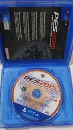 Jogo PES 2015 PS4 5 reais