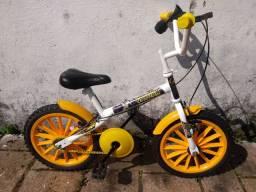 Bike aro 16 semi nova do batmam