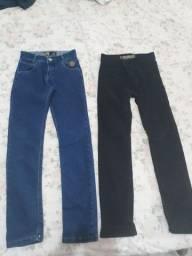 Duas calças jeans infantil