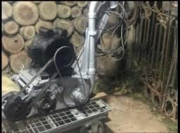 Máquina de lixar assoalhos