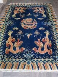 Tapete azul chinês
