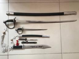 Jogo de Espadas e catanas