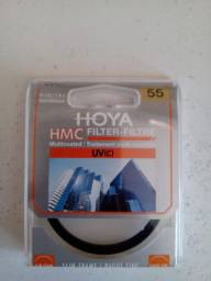Lente HOYA filtro para câmera 55mm