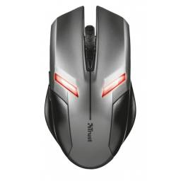 Mouse Usb Trust 21512 Gaming Ziva 800/2000dpi Preto