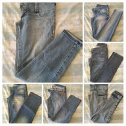 Lote de calças Tam 38_40