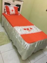 Lençol de cama de solteiro