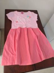 Vestido rosa tamanho 8