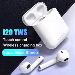 Fone sem fio i20 TWS (Lançamento) + Entrega grátis