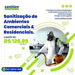 Sanitização e desinfecção de ambientes . o melhor para você