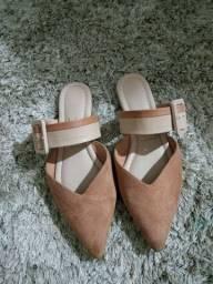 Vendo sandália usada mais nova tam 34